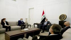الكاظمي والسفير الفرنسي يبحثان جملة قضايا ويؤكدان على أمر