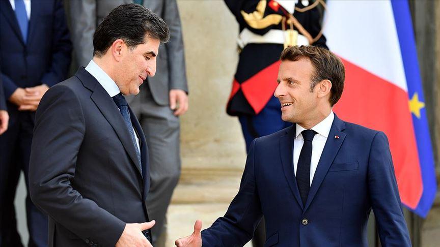 President Barzani to meet the French President tomorrow