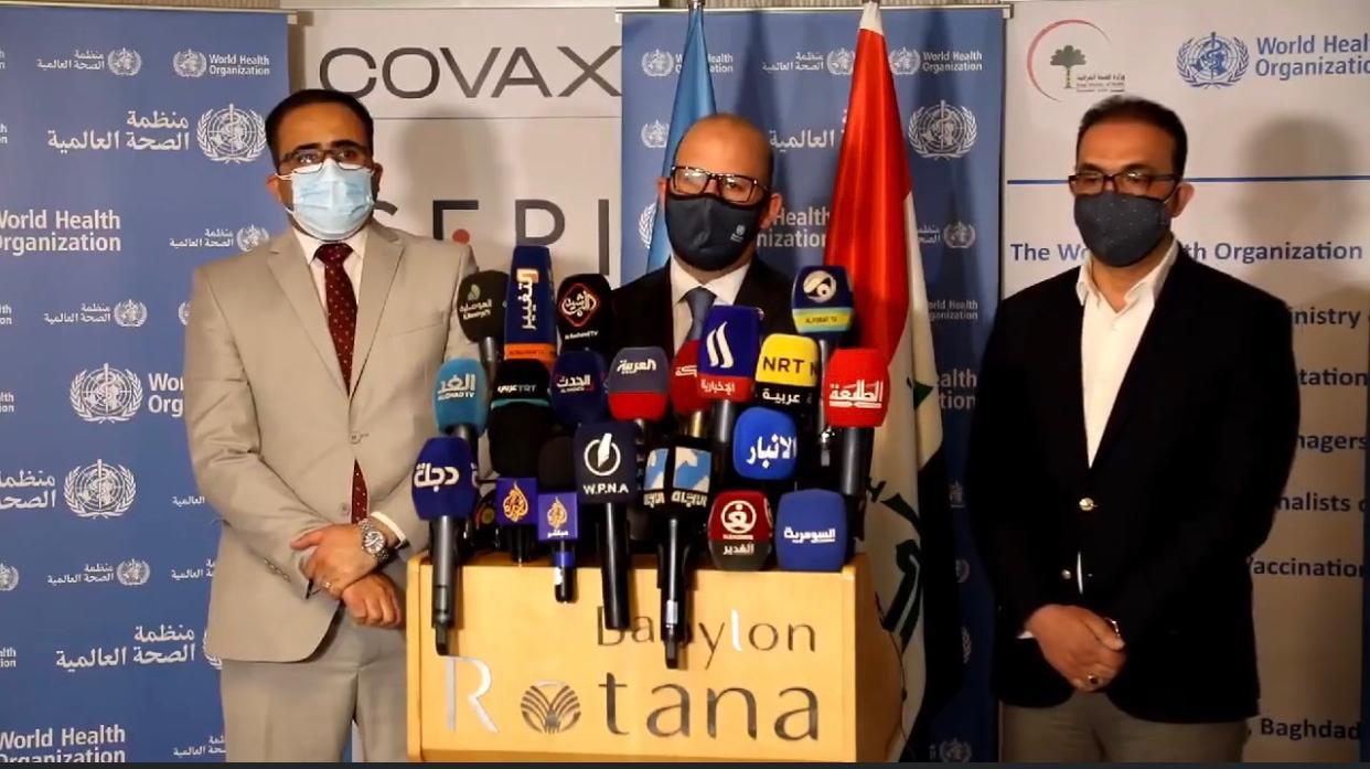 """الصحة العالمية تحسم الجدل بشأن """"أمان"""" لقاحات كورونا بالعراق"""