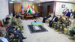 Peshmerga bids farewell to the U.S. official Teichert