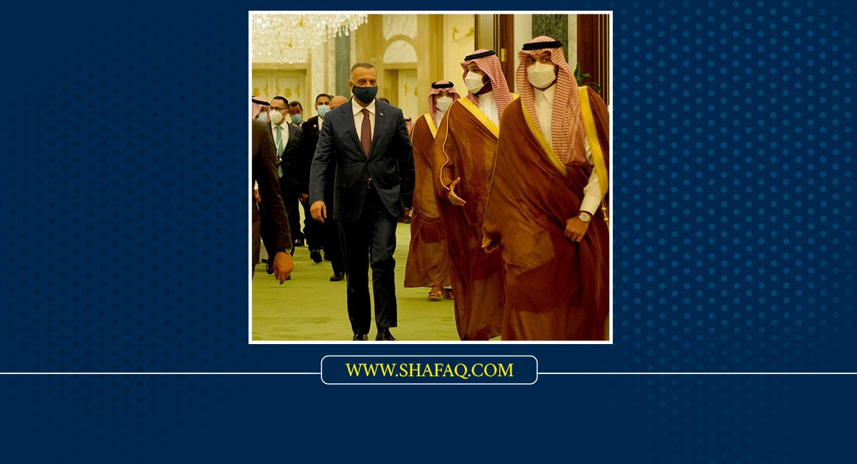 Al-Kadhimi discusses with Bin Salman ways to enhance cooperation between Baghdad and Riyadh