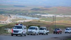 صور .. اقليم كوردستان ينقل ويدفن جثامين لاجئين كورد من سوريا قضوا بحادث في أوربا