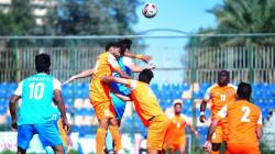 فوز الميناء وامانة بغداد ونفط ميسان في دوري الكرة الممتاز