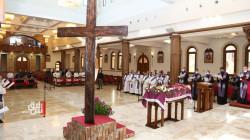 إقامة قداس عيد القيامة في أربيل.. صور