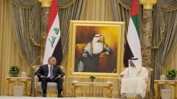 الكاظمي وآل نهيان يترأسان اجتماعا موسعا في الإمارات