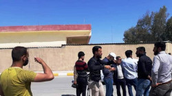 Law enforcement dispersed a demonstration of free lecturers, Teachers' Syndicate in al-Anbar says
