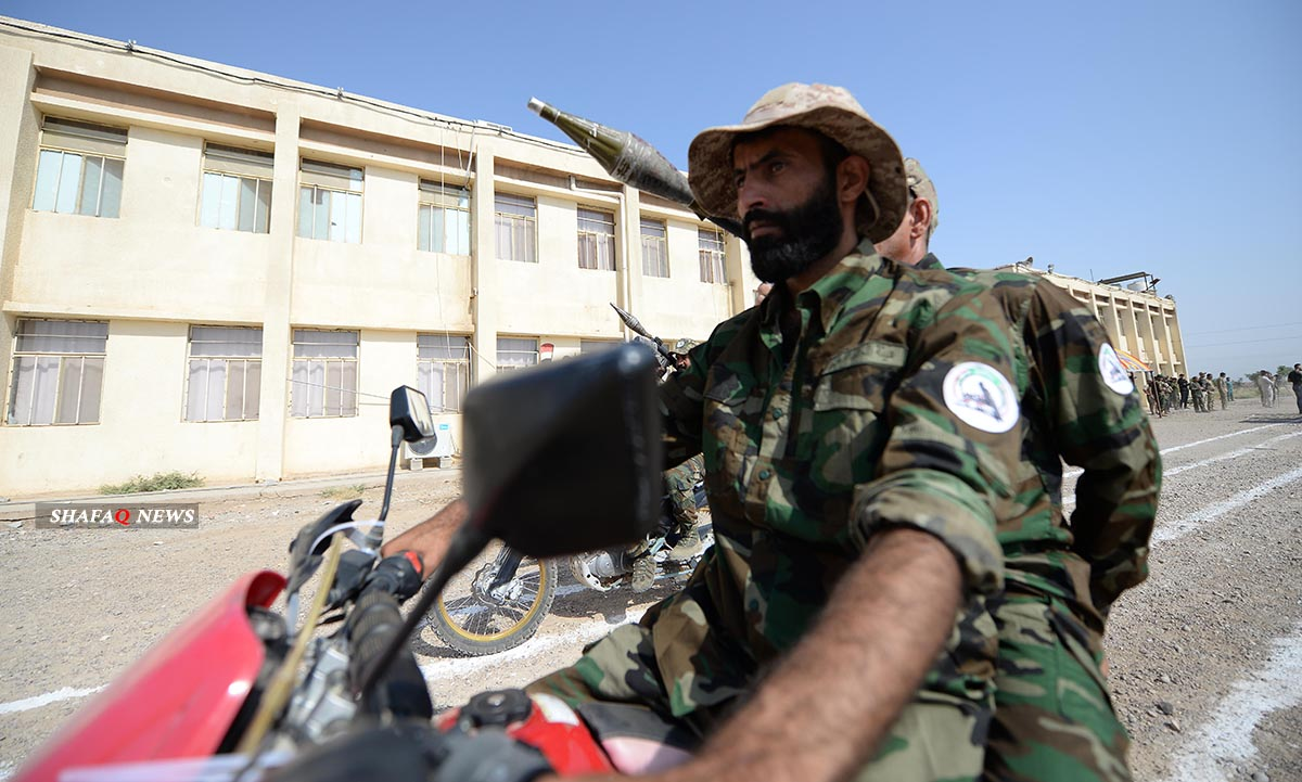 An explosive device wounds two PMF members in Babel