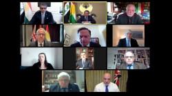 مسرور بارزاني: الارهاب ما يزال يشكل خطرا ونحتاج إلى دعم أمريكا وبريطانيا