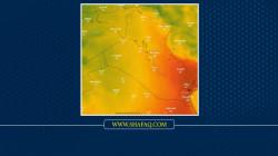 الكتلة الهوائية الحارة تغادر العراق وتحل محلها أخرى معتدلة