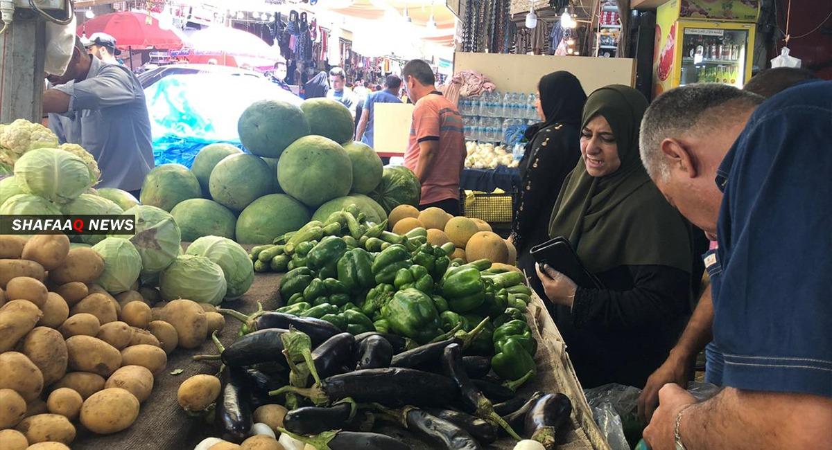 العراق يسمح بإستيراد ثلاثة انواع من الخضر لمواجهة غلاء الأسعار
