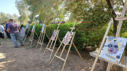 """The """"garden library project"""" inaugurated in Khanaqin in commemoration of the """"Red Falcons"""""""