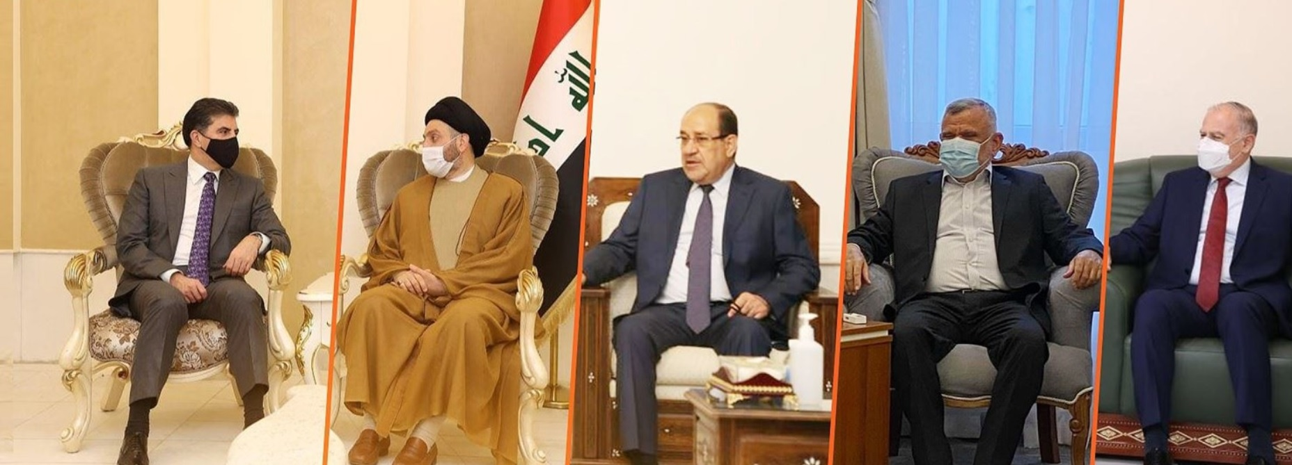 Regional President for Iraqi leaders: We all made a mistake and we must open a new page 1618166770901