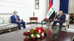 الرئيس العراقي يؤكد على حماية التعايش بكركوك وقطع الطريق أمام الإرهابيين