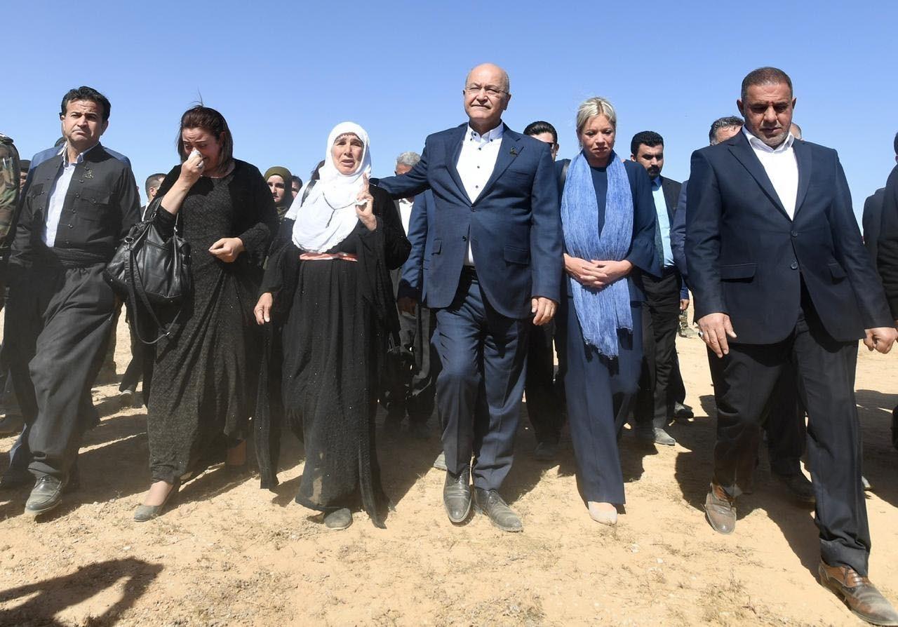 Salih calls for al-Anfal victims body repatriation