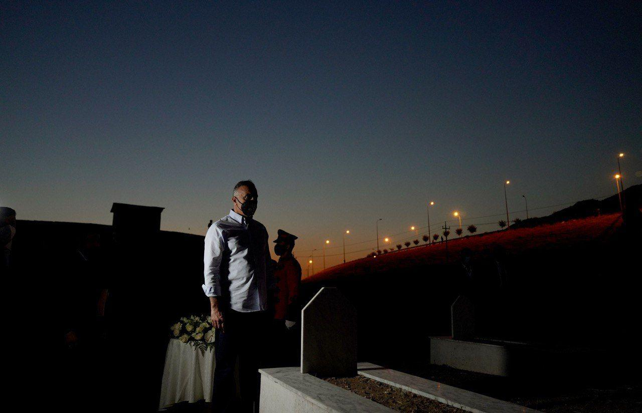 Iraq's Prime Minister condemns the Israeli attacks on Palestinians, praises Iraq's regional relations