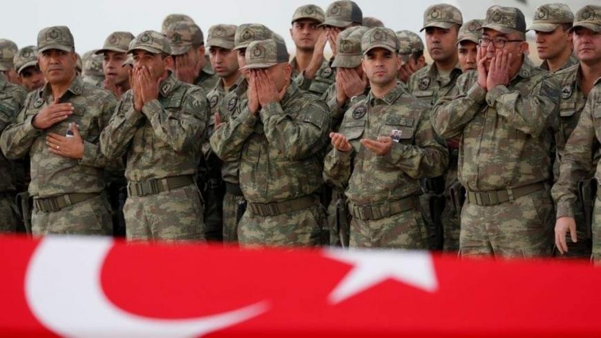 الدفاع التركية: مقتل جندي تركي بهجوم صاروخي على قاعدة بعشيقة