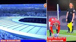 قناة إيرانية تقطع بث قمة كروية بسبب سيقان الحكم المساعدة