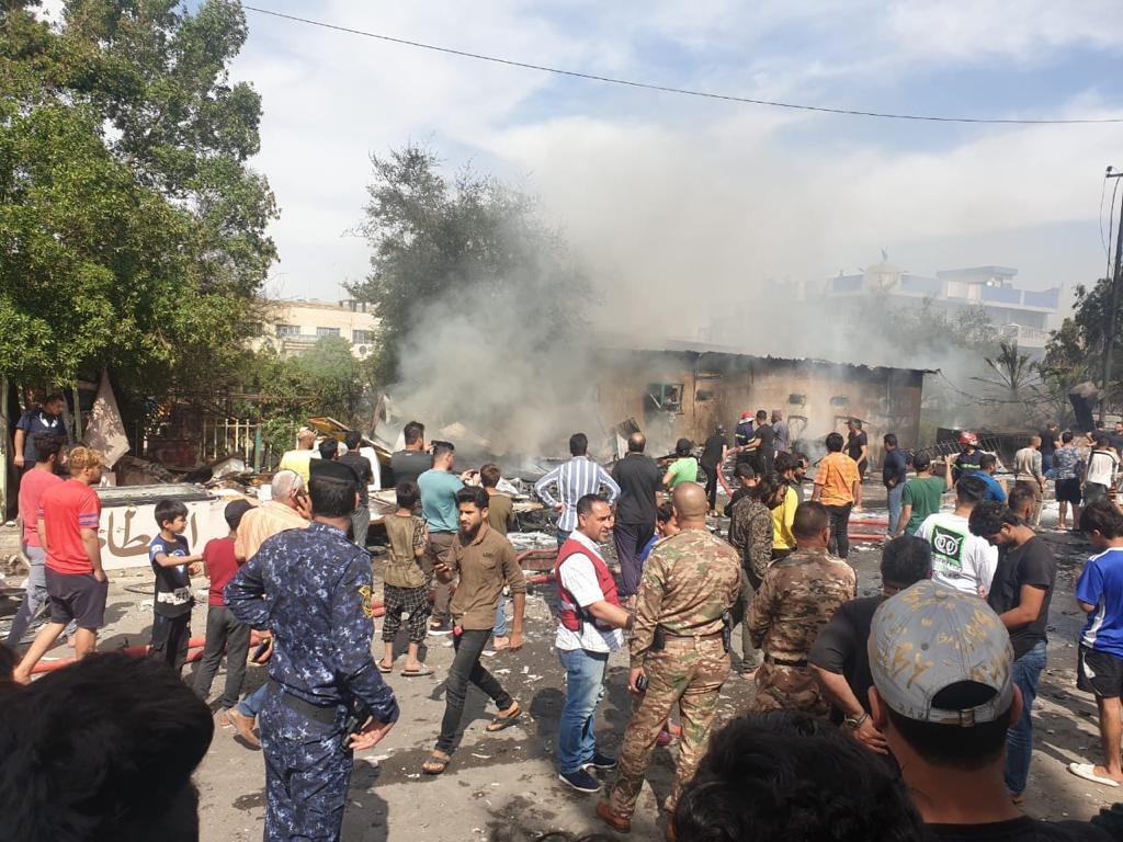 السلطات الأمنية تكشف عن طبيعة الانفجار في مدينة الصدر ببغداد وحصيلة الضحايا