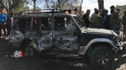The driver of al-Habibiya car bomb found dead inside the car