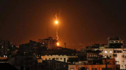 A rocket was launched from the Gaza Strip at an Israeli town