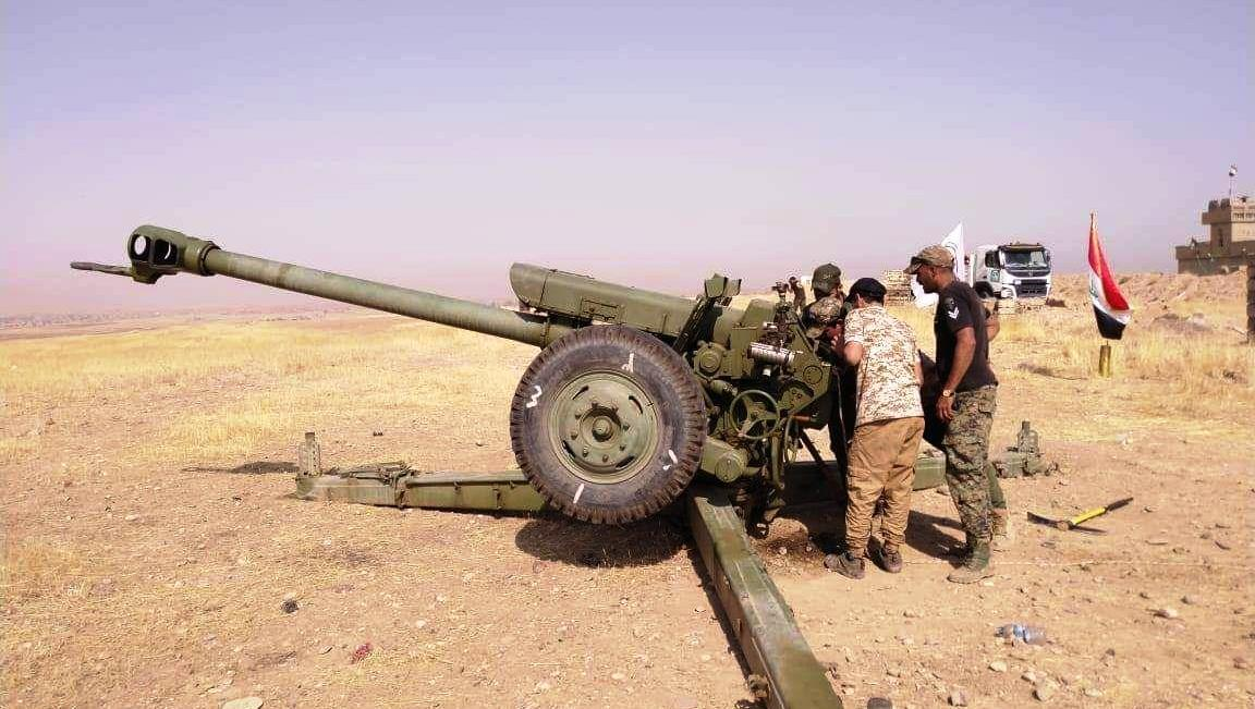 PMF bombs ISIS sites in eastern Saladin