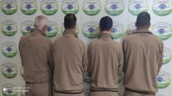 اعتقال ثلاثة تجار مخدرات وخمسة متعاطين بينهم امرأة في السليمانية والبصرة