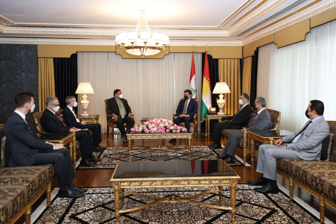 President Barzani: Syria's crisis will not be solved overnight