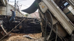 Nearly 100 people injured after train derails in Egypt