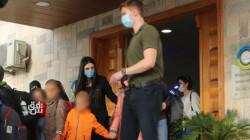 صور.. الإدارة الذاتية تسلم أطفالاً من عوائل عناصر داعش إلى سوريا