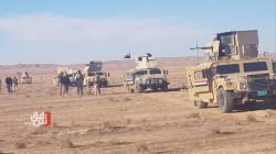 Mortar shells landed inside an Army barrack in western Iraq