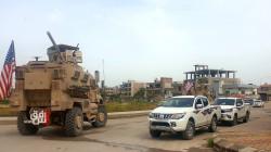 US units patrol in northeastern Syria