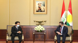 مسرور بارزاني يستقبل الرئيس الجديد لمكتب اليابان القنصلي لدى الإقليم