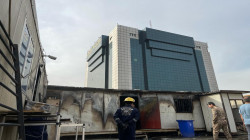 احتواء حريق اندلع داخل وزارة وسط بغداد