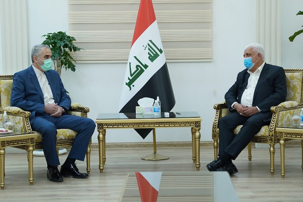 PMF's head affirms the importance of military cooperation between Iran and Iraq
