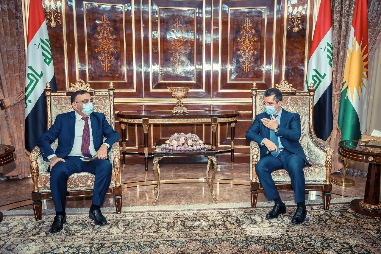 حكومة الإقليم: مستعدون للتعاون مع وزارة الكهرباء الاتحادية لتنفيذ المشاريع المشتركة