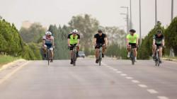 Nechirvan Barzani bike-tours the streets of Erbil with the British ambassador to Iraq