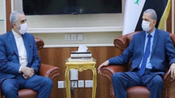 Iraq's Minister of Interior meets with the Iranian Deputy Minister of Defence