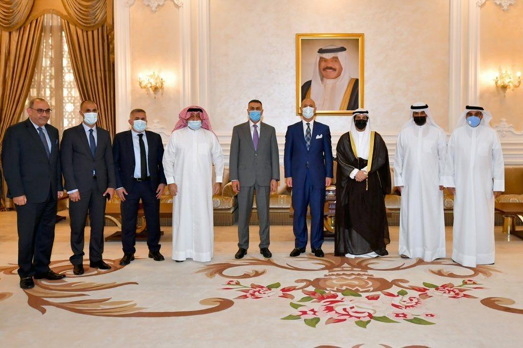 وزير الرياضة في الكويت للتنسيق بشأن اقامة بطولة خليجي ٢٥ في العراق