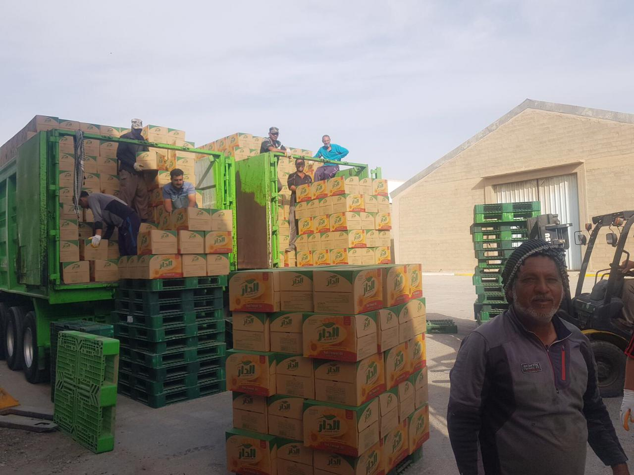 العراق يتسلم كميات من زيت الطعام لتأمين الحصة التموينية