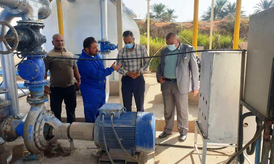 التجاوزات تستحوذ على 40% من ماء الشرب في ديالى