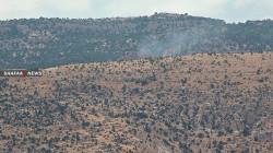 Turkish aircraft target areas north of Duhok