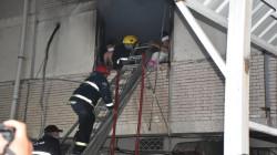 الدفاع المدني يعلن انقاذ 90 مريضا ومرافقا في حريق مستشفى ابن الخطيب