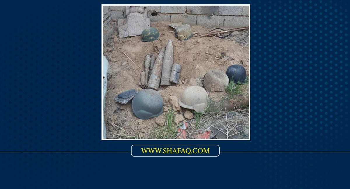Military Intelligence seizes ammunition and explosives in Nineveh and al-Anbar