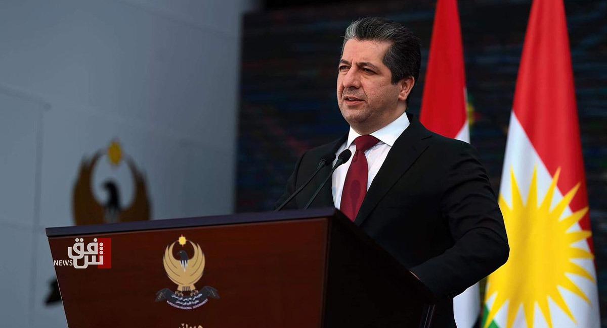 """رئيس حكومة الإقليم يهاتف الكاظمي بشأن حادثة """"أبن الخطيب"""" في بغداد"""
