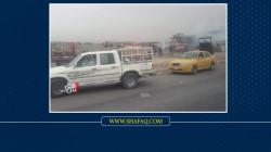Massive fire breaks out in a factory in Mosul