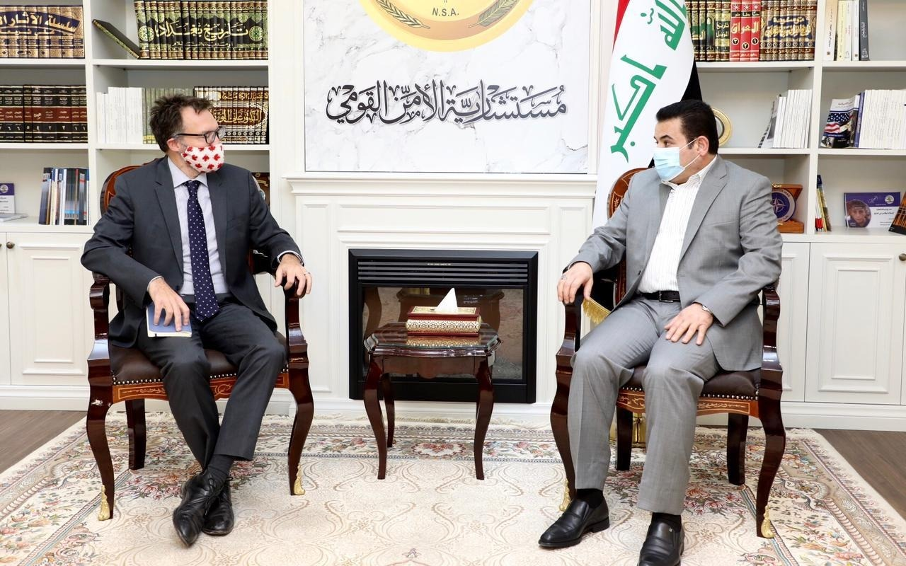 Al-Araji calls on Canada to participate in the reconstruction of Sinjar 1619442382249