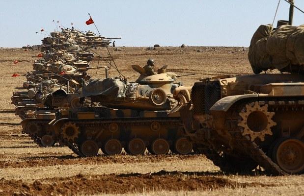 حزب العمال يدكّون بقصف صاروخي قاعدة عسكرية للجيش التركي في دهوك