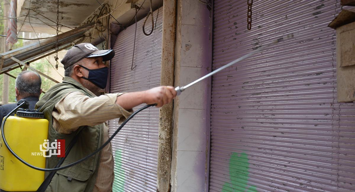 قرابة 1000 إصابة جديدة و19 حالة وفاة بكورونا في إقليم كوردستان