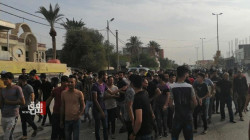 Demonstrators in three Iraqi Governorates calling for the resignation of the government