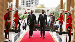 President Salih arrives in Erbil